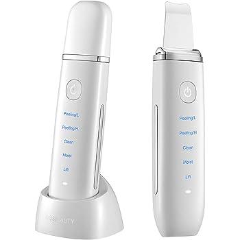 美顔器 COSBEAUTY アクリアルピーリングプロEX Aqurial Peeling Pro EX 多機能 CB-050 超音波 防水仕様 1年保証 コスビューティー (ホワイト)