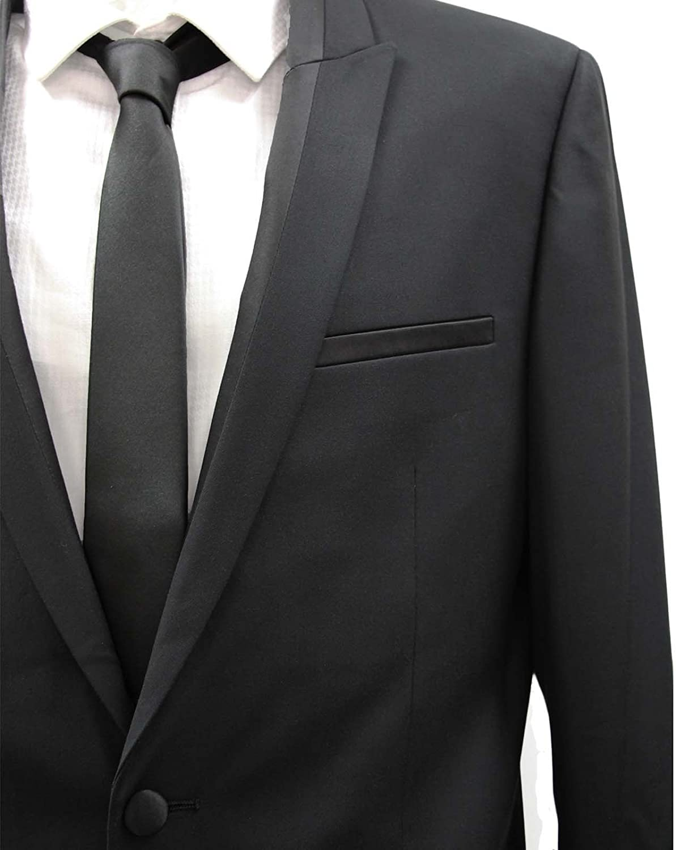 HARRY BROWN Men's 2 Piece 2 Button Dinner Suit/Tuxedo