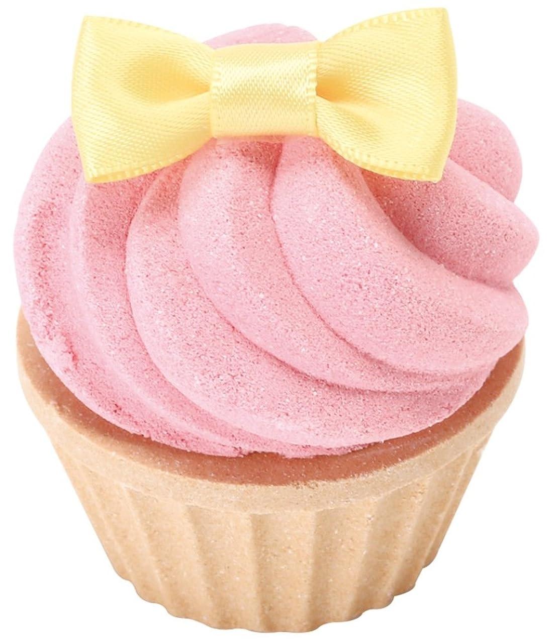 流用するラショナル起こるノルコーポレーション お風呂用 芳香剤 おめかしカップケーキフィズ 60g ラズベリーの香り OB-SMM-14-1