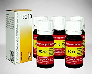 Dr.Reckeweg Germany Biochemic Combination Tablet Bc 10 Pack of 5