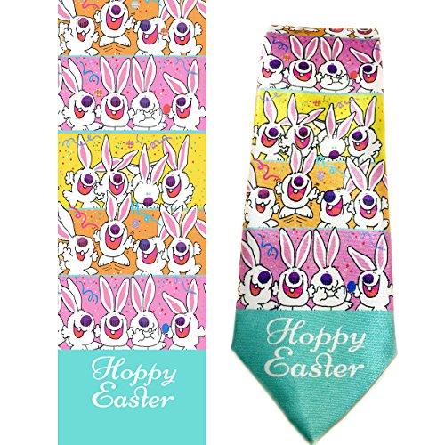 Product Image 3: Stonehouse Collection Men's Assorted Holiday Ties – 6 Fun Neckties – Tie Assortment – Christmas, Thanksgiving, Valentines, St Patricks, Easter, 4th of July