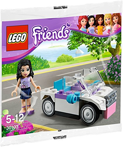 LEGO 30103 Friends - Emma mit Cabrio (Exklusives Polybag Set)