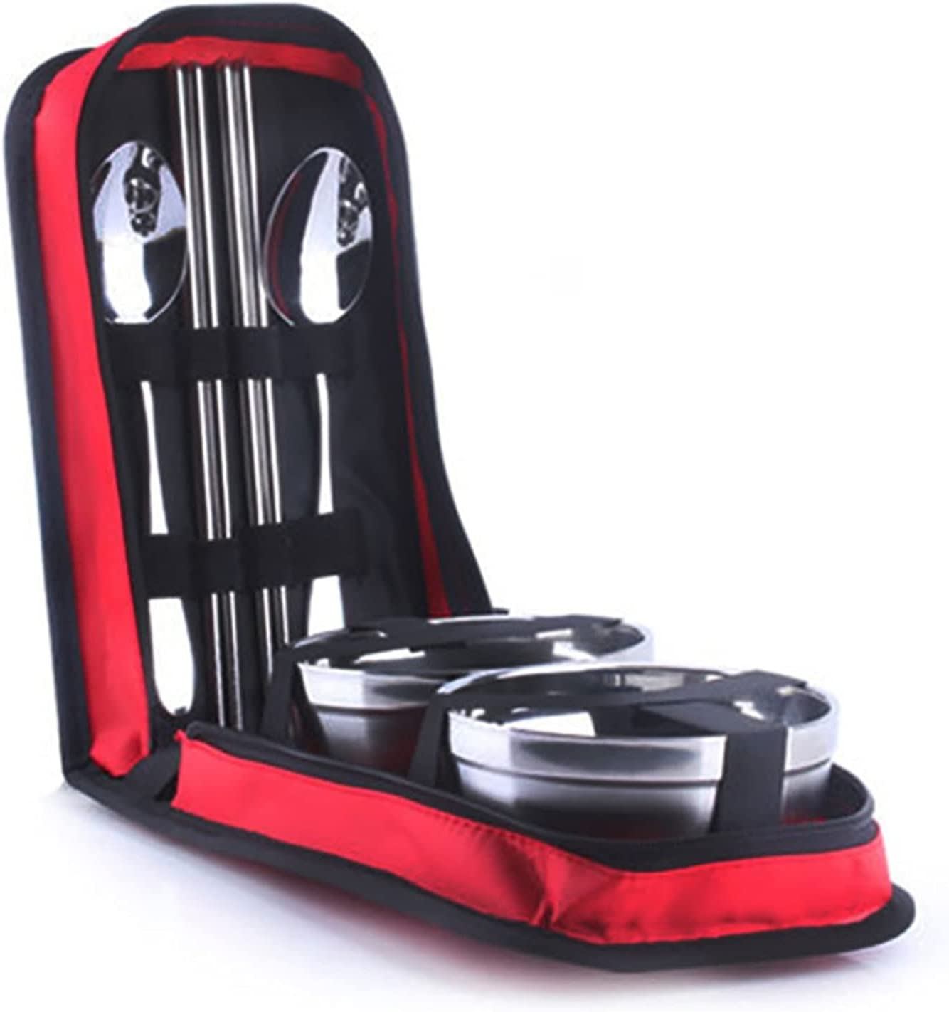 UIOP Picnic Tourist Atlanta Mall It is very popular Set Outdoor Tableware Steel Stainless Campin