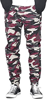 Men's Drawstring Casual Camo Jogger Pants