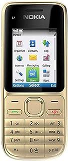 هاتف نوكيا C2-01 بخاصية فتح GSM بكاميرا 3.2 ميجابكسل ومشغل الفيديو - الإصدار العالمي (فضي دافئ)