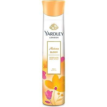 Yardley London Autumn Bloom Refreshing Body Spray, 150ml