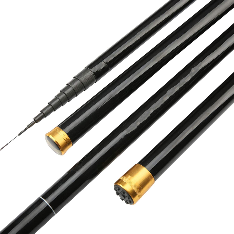 High 8m 9m 10m 11m 12m 13m Power Hand Pole Fishing Rod Ultra Hard Super Light Telescopic Rod Stick Spare tip A119