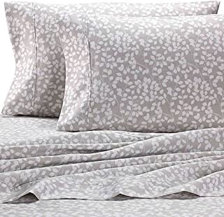 Heartland HomeGrown 325-Thread-Count Cotton Percale Queen Flat Sheet White