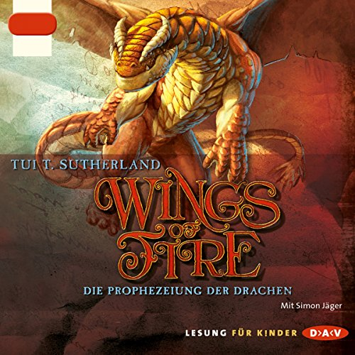 Die Prophezeiung der Drachen (Wings of Fire 1) cover art