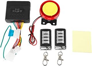 F FIERCE CYCLE DC 9-24V Motorcycle Scooter Anti-theft Alarm System Remote Control Key Remote Kit Engine 125dB Alarm Speaker