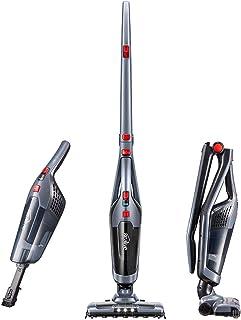 Aspirateur Balai Sans Sac Kealive Aspirateur à Main Sans Fil 2 en 1, Autonomie 45 min, Phare LED, 2 Vitesses modurable, Si...