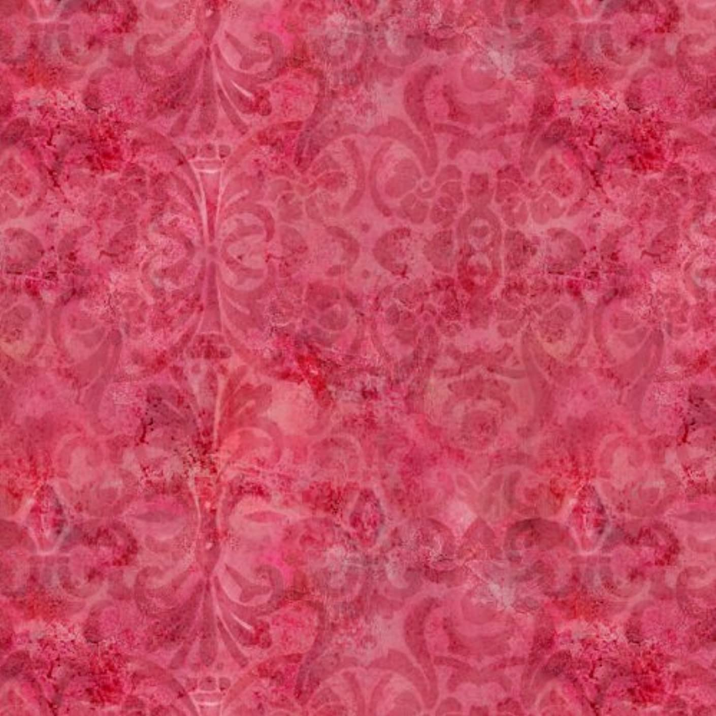 Springs Creative Premium Quilting Sacre Coeur Floral Scroll Fabric, 44 by 45-Inch