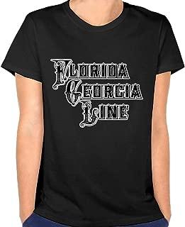 Woman Florida Georgia Line Tops Shirt Classic Sexy Youth Girls Tshirts