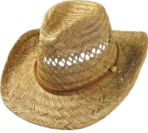 Harrys-Collection Chapeau textile avec mentonnière - Beige - L