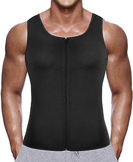 Faja para Hombre Gym Chaleco Camiseta Sauna Sudar de Térmic