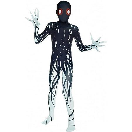 Monster Kostuem Fuer Jungen.Morphsuits Zalgo Kostum Kinder Monster Verkleidung Fur Halloween Und Karneval S 91cm 104cm Amazon De Spielzeug