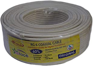 Starface RG-6 Coaxial Cable, 100 yards