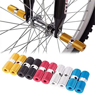 1 Pair Bicycle Foot Stand Pegs Steel Bike Accessory BMX Axle Peg Bike Pegs Yosoo Health Gear BMX Stunt Pegs Foot Pedals Backseats Stands