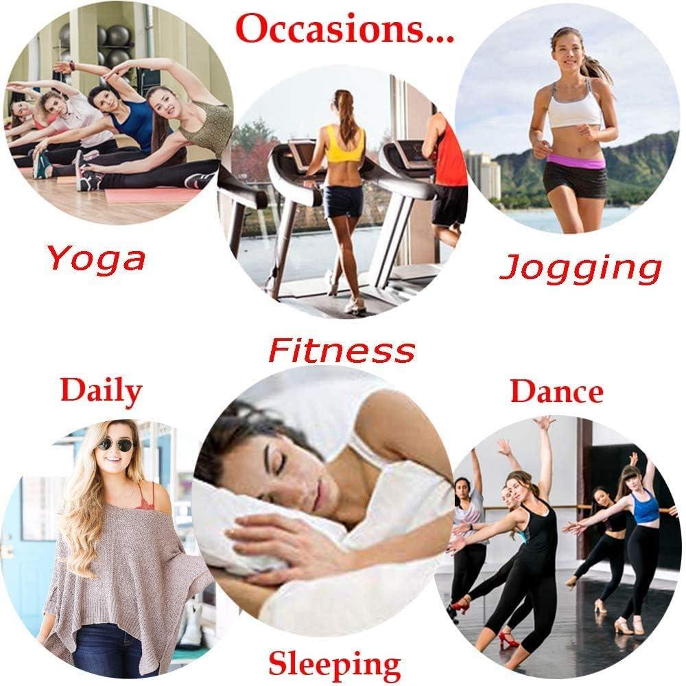 Women Seamless Lace Sports Bras Cross Front Side Buckle Lounge Bra Yoga Workout Activewear