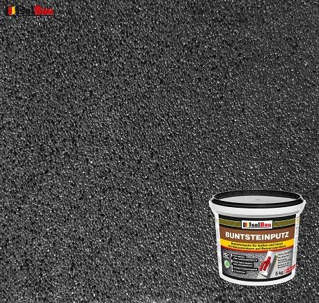 Buntsteinputz Mosaikputz BP100 (Anthrazit) 5kg Absolute ProfiQualität