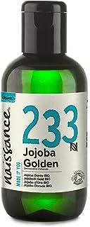 Naissance Jojobaöl Gold BIO Nr. 233 100ml 100% reines, kaltgepresstes, bio zertifiziertes Öl