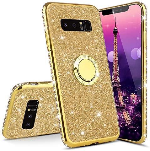 ISADENSER Samsung S7 Edge Case Galaxy S7 Edge Case Ultra Slim Glitter Bling Diamond Luxury Plating product image