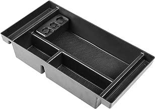 Salusy Center Console Organizer Tray Compatible for 2019 GMC Sierra 1500 /Chevy Silverado 1500-Armrest Storage Box Insert GM Vehicles Accessories