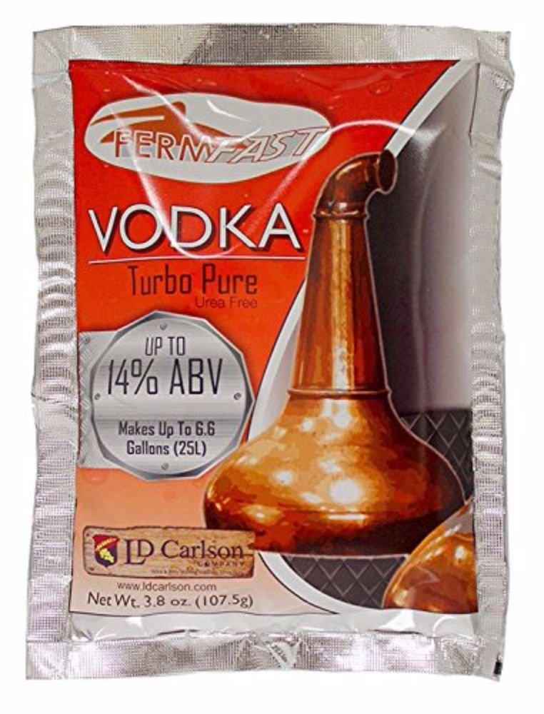 Max 100% quality warranty! 67% OFF Home Brew Ohio - HOZQ8-556 Fermfast Vodka Turbo Yeast 107.5 Pa G