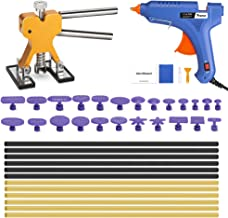 POWPDR Paintless Dent Repair Tools, 41pcs Auto Car Body Dent Removal Remover Kit with 100W Glue Gun for Door Ding Hail Dent Repair