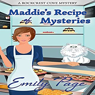 Maddie's Recipe of Mysteries audiobook cover art