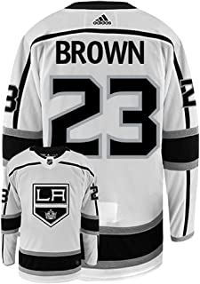 adidas Dustin Brown Los Angeles Kings Authentic Away NHL Hockey Jersey