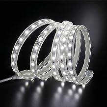 XUNATA Ledstrip, 14 m, 220 V, SMD 5050 60 LEDs/m, IP67, waterdicht, wit