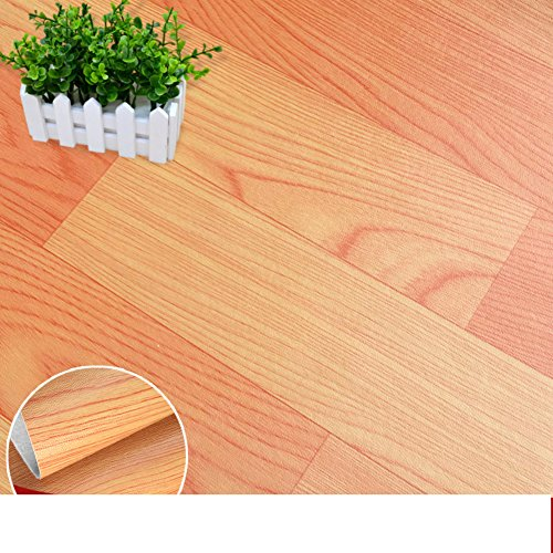 Pvc houten vloeren stok slaapkamer, dikke deur, robuust, vloerbedekking papier A