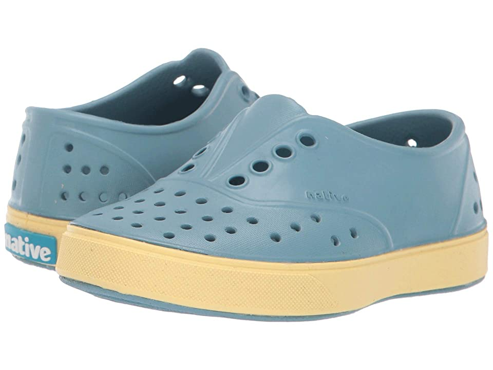 Native Kids Shoes Miller (Toddler/Little Kid) (Fuji Blue/Gone Bananas Yellow) Kids Shoes