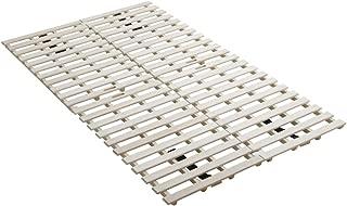 アイリスプラザ すのこマット 桐 二つ折り セミダブル 天然木 折りたたみ ベッド通気性