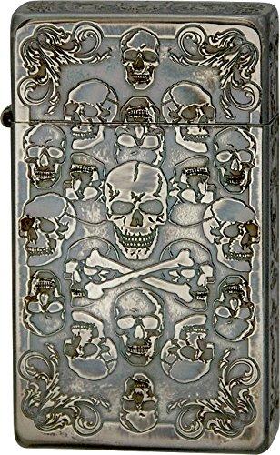 SAROME(サロメ) ターボライター SRM Skull Collection B アンティークシルバー 791029