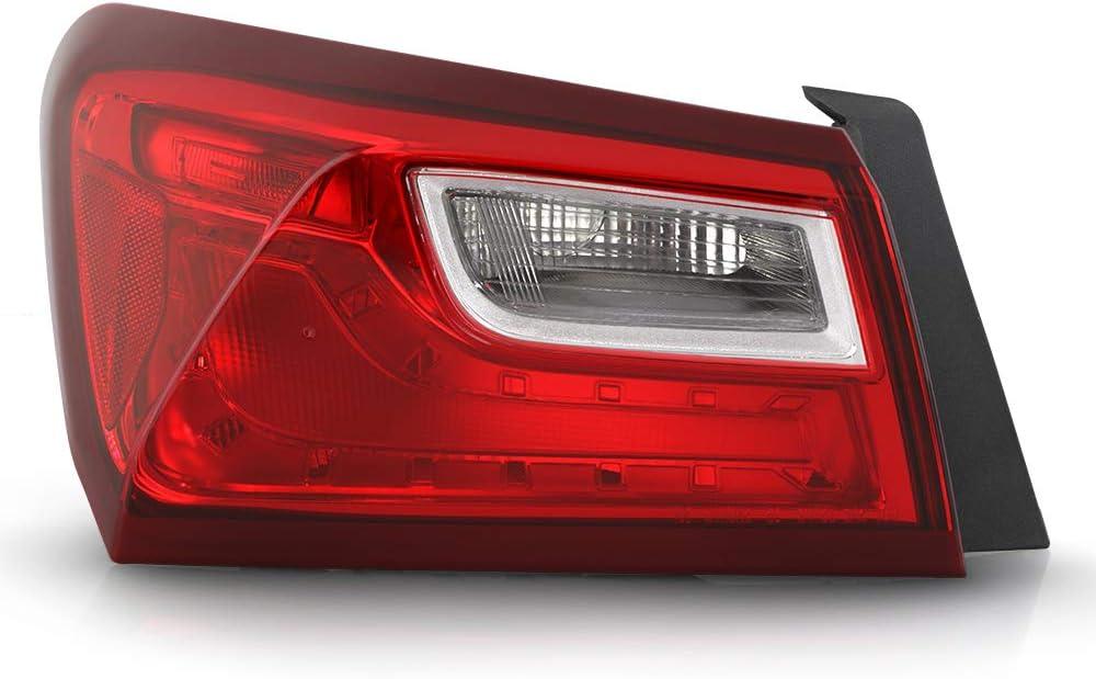 VIPMOTOZ Driver お気に入 Side OE-Style Red Lens Asse 商品追加値下げ在庫復活 Lamp Left Tail Light