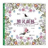 小猫杰尼生活的精灵森林/秘密花园涂绘学院丛书