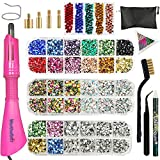 Hotfix Applicator, Hot Fix Rhinestone Setter Wand Tool, Hot-fix Bedazzle Kit, 4560 Pcs, AB...