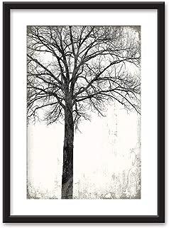 black and white tree prints