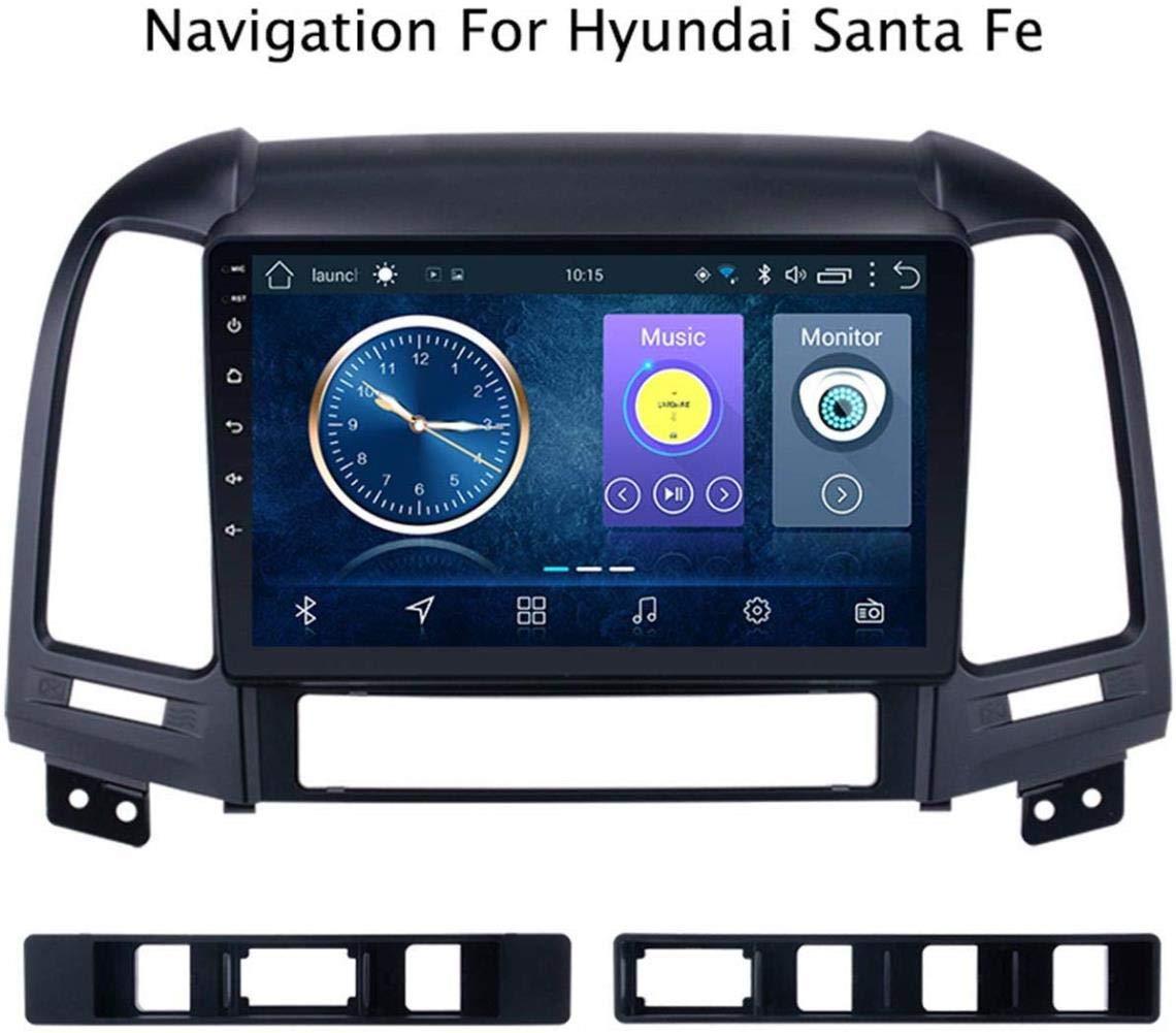 Dispositivos de navegación GPS para Coches Android Hyundai Santa Fe 2005-2012 Tucson conexión de Nivel de OBD TPMS a WiFi USB/BT Compartir Internet Bluetooth Radio de Coche,plug1,WiFi, 1 + 16G: Amazon.es: Electrónica