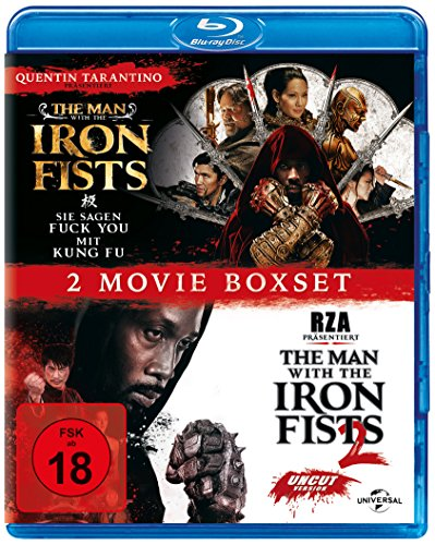 The Man with the Iron Fist 1+2 [Blu-ray]