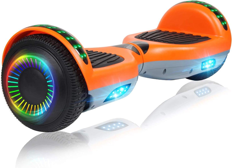 5☆大好評 Felimoda 6.5 Inch Hoverboard with Bluetooth Two Wheels 限定モデル Speaker