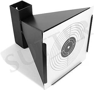 comprar comparacion SUTTER Parabalas con Embudo K750 para dianas de 14x14cm / De Metal/Soporte de dianas para Rifles/Pistolas de Aire comprimido