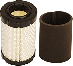 HIFROM Air Filter with Pre Filter for Briggs and Stratton 796031 594201 591334 Pre Filter 797704 Replace for John Deere MIU1303 GY21435 MIU13963 Lawn Mower Air Cleaner