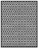 Un tappeto da esterno realizzato in plastica riciclata, facilissimo da pulire
