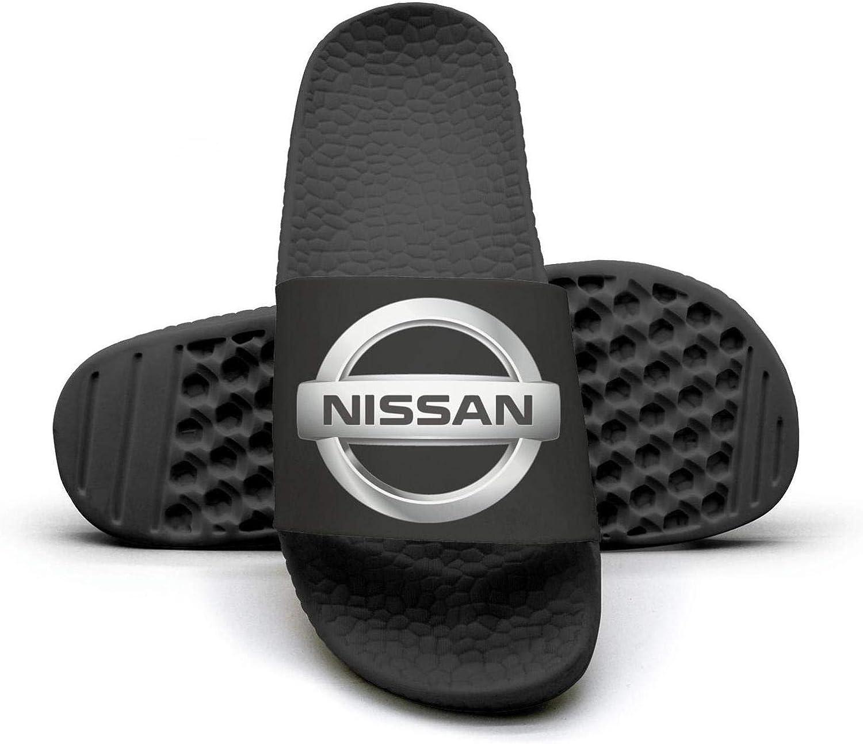 EIGKASL Printed Non-Slip Slippers Slide flip Flop Sandals Nissan-Emblem-Logo-Symbol-Summer Soft for Womens