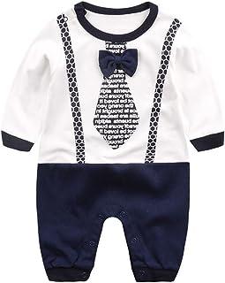 3f68b0f6f6e71c Bambino Pagliaccetto in Cotone Ragazze Ragazzi Pigiama Neonato Tutina  Fumetto Outfits