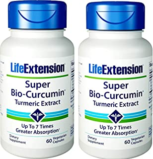 Life Extension - Super Bio-Curcumin - 400 Mg - 60 Vcaps (Pack of 2)