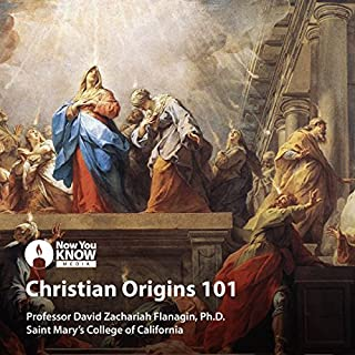 Christian Origins 101                   By:                                                                                                                                 Prof. David Zachariah Flanagin Ph.D.                               Narrated by:                                                                                                                                 Prof. David Zachariah Flanagin Ph.D.                      Length: 12 hrs and 35 mins     Not rated yet     Overall 0.0